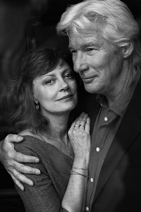 copyright Maurice Haas - Susan Sarandon and Richard Gere