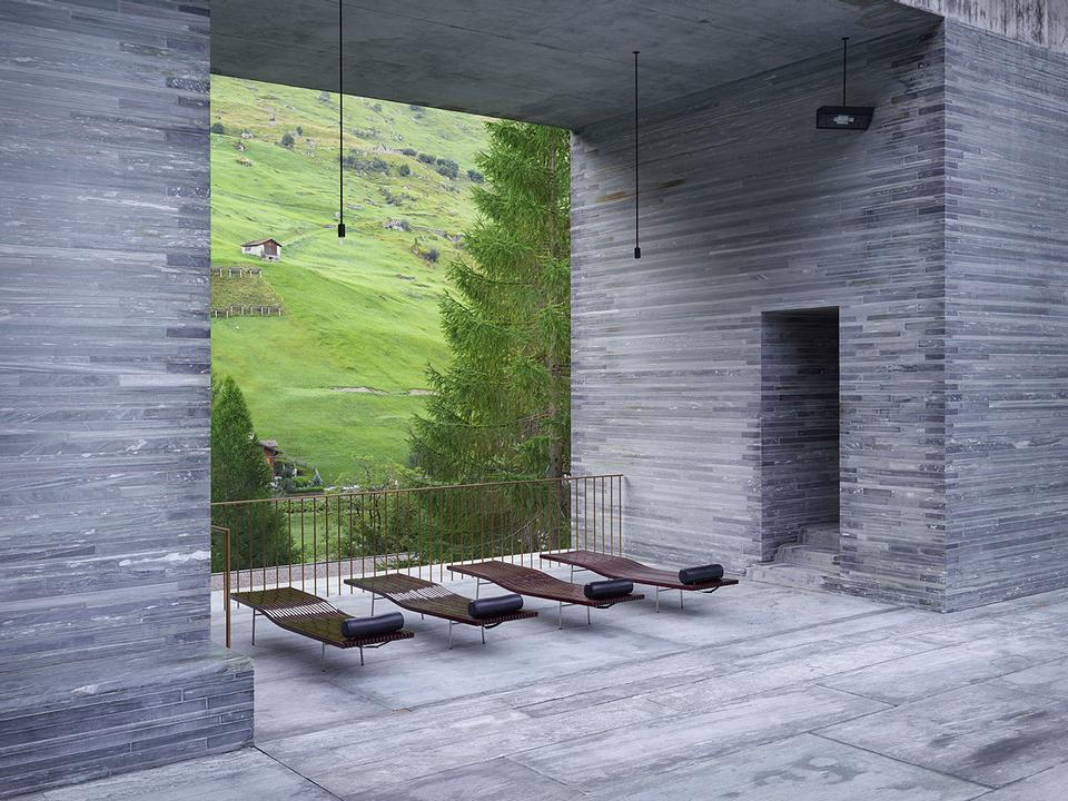 Copyright Milo Keller – Peter Zumthor – Therme Vals