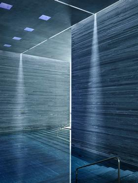 copyright Milo Keller - Peter Zumthor – Therme Vals